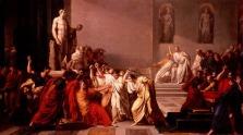 """Vincenzo Camuccini, """"Morte di Cesare"""", 1798"""