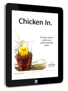 Chicken In ebook to outfox public speaking fears